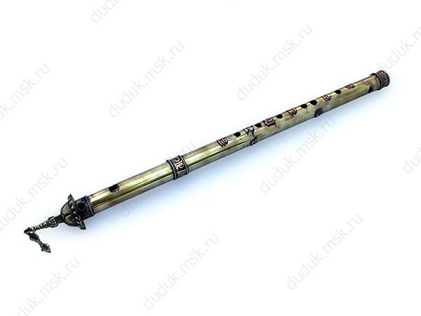 Металлическая флейта с боковым блок-свистком